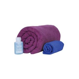 SeaToSummit Tek Towel Wash Kit Handtuch Set Large