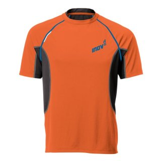 Inov-8 Base Elite 140 SS Herren Laufshirt orange- blue