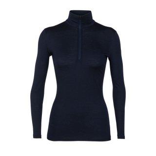 Icebreaker Women Oasis 200 Half-Zip Damen Merino Langarmshirt