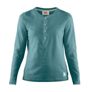 FjällRäven Greenland Re-Cotton Buttoned LS Damen