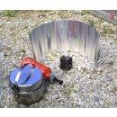 BasicNature Alu Windschutz rollbar
