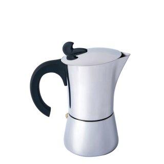 BasicNature Espresso Maker Edelstahl