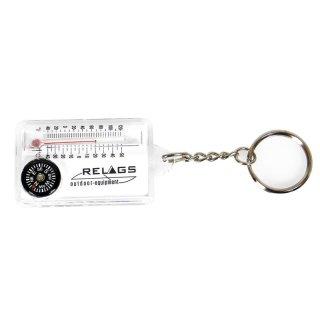 BasicNature Schlüsselanhänger Thermo/Kompass