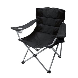 BasicNature Travelchair Holiday schwarz