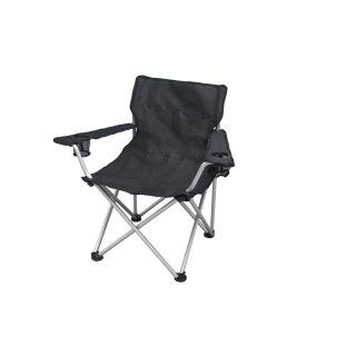BasicNature Travelchair Komfort schwarz