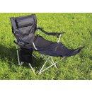 BasicNature Travelchair Luxus schwarz
