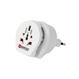 Skross Steckeradapter Combo World to Italien