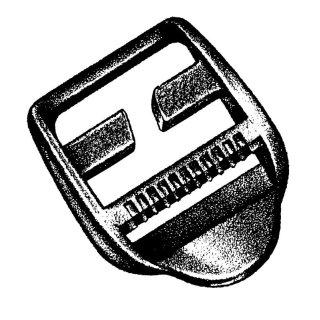 BasicNature Ladderloc Spezial 25 mm 2 Stück auf Karte