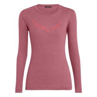 Salewa Solidlogo DryTon Damen Langarmshirt