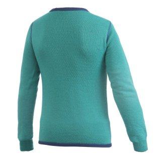Woolpower Kids Crewneck 200 Merinopullover turtle green 122/128
